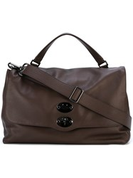 Zanellato Postina Large Tote Brown