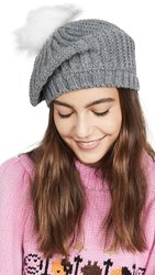 Hat Attack Apres Beret Grey Melange