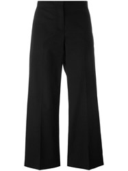 Fabiana Filippi Cropped Trousers Black
