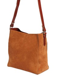 Lanvin Small Suede Hobo Bag