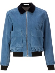 J.W.Anderson J.W. Anderson Corduroy Bomber Jacket Blue