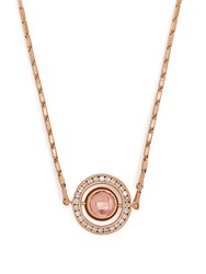 Marie Mas Small Diamond Amethyst Topaz And Gold Necklace Pink