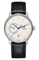 Rado Coupole Classic Automatic Leather Strap Watch 41Mm