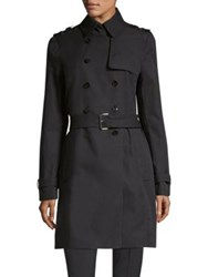 Boss Casile Sporty Trench Coat Navy