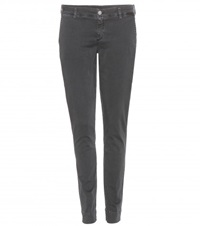 7 For All Mankind Roxanne Chinos Grey