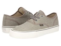 Polo Ralph Lauren Morray Grey Vintage Burlap Men's Shoes Gray