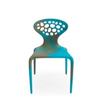 Moroso Supernatural Chair Multicolour Turquoise Caramel