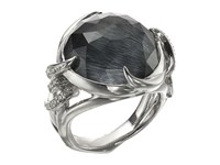 Stephen Webster Forget Me Knot Barb Ring W Blue Agate White Rhodium