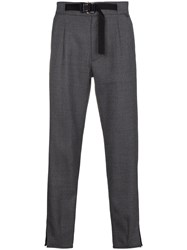 Alyx Belted Suit Trousers Grey