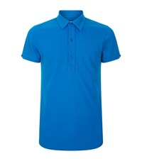 Orlebar Brown Sebastian Tailored Polo Shirt Male Blue