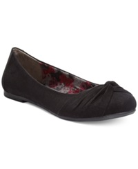 Report Mariann Foldover Flats Women's Shoes Black