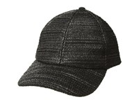 Bcbgmaxazria Natural Texture Baseball Hat Black Baseball Caps