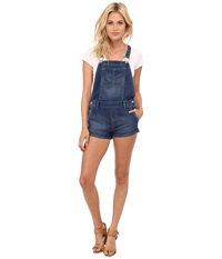 Dittos Gillian Shortall Medium Enzyme Women's Overalls One Piece Blue