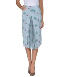 Boy By Band Of Outsiders 3 4 Length Skirts Sky Blue