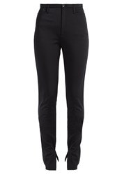 Balenciaga High Rise Scuba Jersey Leggings Black