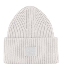 Acne Studios Pansy Wool Hat Grey