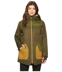 Burton Prowess Jacket Forest Night Rifle Green Coat