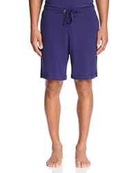 Daniel Buchler Peruvian Pima Cotton Lounge Shorts Navy