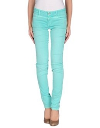 Closed Casual Pants Turquoise