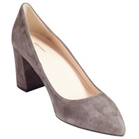 John Lewis Ava Pointed Toe Court Shoes Grey