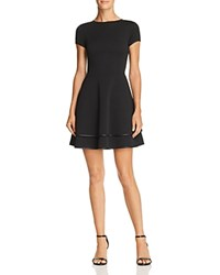 Aqua Tiered Fit And Flare Dress 100 Exclusive Black