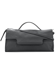 Zanellato Large Postina Tote Leather Black
