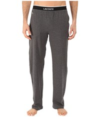 Lacoste Solid Pants Charcoal Men's Pajama Gray