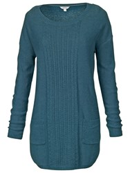 Fat Face Truro Pocket Tunic Nordic Blue