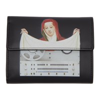 Undercover Black Painting Wallet