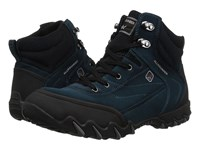 Allrounder By Mephisto Nigata Tex Black Rubber New Petrol Suede N Lace Up Casual Shoes Blue