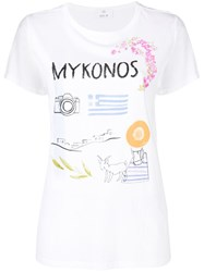 Allude Mykonos T Shirt White