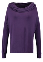 Deha Long Sleeved Top Purple