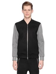 Neil Barrett 3D Flashes Neoprene Bomber Jacket