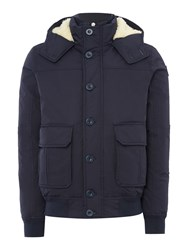 Puffa Men's Moore Bomber Jacket Navy