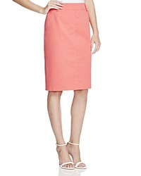 Basler Pencil Skirt Coral