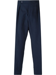 Carven Straight Fit Pleat Trousers