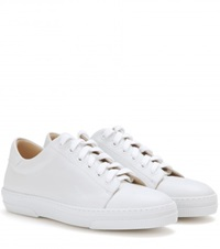 A.P.C. Steffi Leather Sneakers White