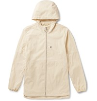 Acne Studios Motion Shell Hooded Jacket White