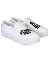 Sam Edelman Circus By Charlie Rose All Day Slip On Sneakers Women's Shoes Stark White