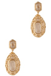 Isharya Libra Croc Earrings Gold