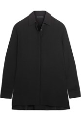 The Row Carlton Crepe Shirt Black