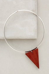 Sophie Monet Arrow Collar Silver