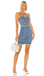 7 For All Mankind Fray Dress. Luxe Vintage Muse