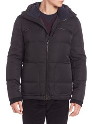 Vince Quilted Down Fill Jacket Black