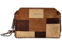 Michael Michael Kors Astor Lg Messenger Dark Caramel Messenger Bags Brown