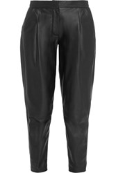 Iris And Ink Rosa Leather Pants Black