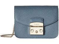 Furla Metropolis Mini Crossbody Dolomia Cross Body Handbags Blue