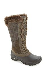 The North Face Women's 'Shellista' Boot Weimaraner Brown Dove Grey