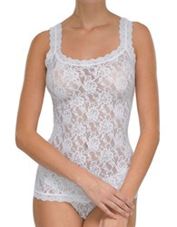 Hanky Panky Signature Lace Unlined Camisole White