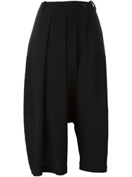 Lost And Found Ria Dunn Pleated Skirt Pants Black